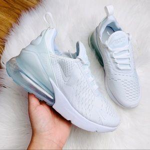 Nike Air Max 270 Triple White B Grade